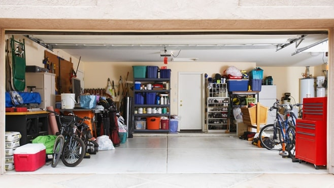5 tips to unclutter your garage
