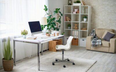 Travailler à domicile? Comment créer un espace de bureau sans distraction